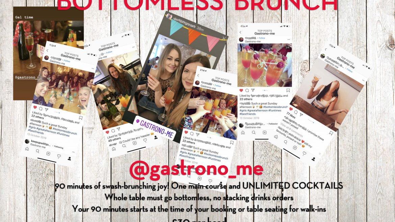 Bottomless Brunch at Gastrono-Me Bury St Edmunds - Unlimited Cocktails